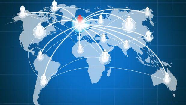 thị trường chúng khoán có tính kết nối toàn cầu