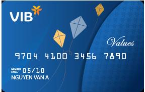thẻ ATM VIB trong nước