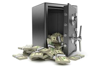 két sắt giữ tiền