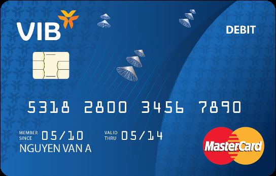 thẻ ghi nợ VIB Classic