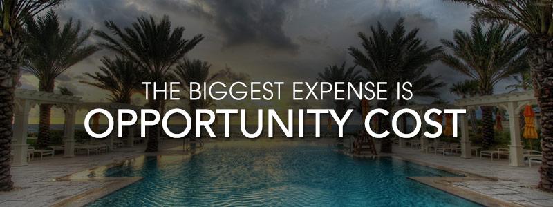 chi phí cơ hội là đánh đổi đắt nhất của cuộc đời