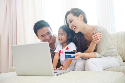 thanh toán trực tuyến mua hàng online bằng thẻ tín dụng