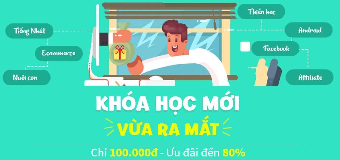 khoa hoc online giam gia tren kyna 100k