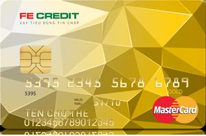Thẻ tín dụng FE Credit hạng vàng