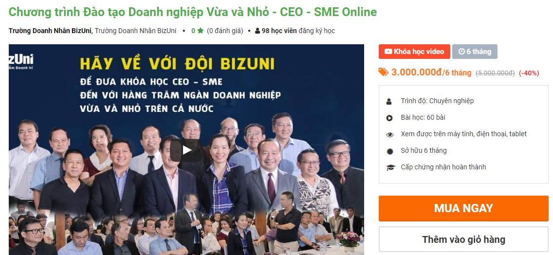 khóa học quản trị kinh doanh ngắn hạn của Kyna