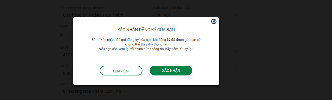 Huong dan vay tien online VPBank 6