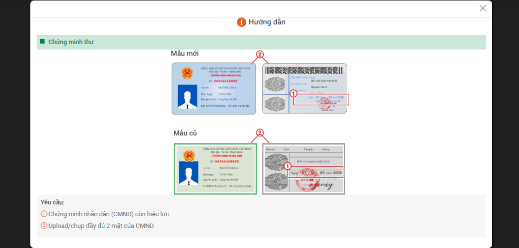 Huong dan vay tien online vpbank 10