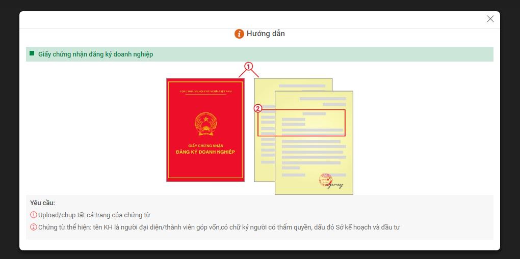 Huong dan vay tien online vpbank 14