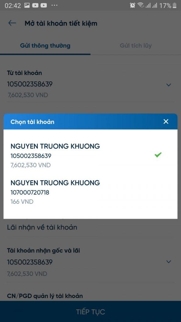 chon-tai-khoan-trich-no-gui-tiet-kiem-online-vietinbank