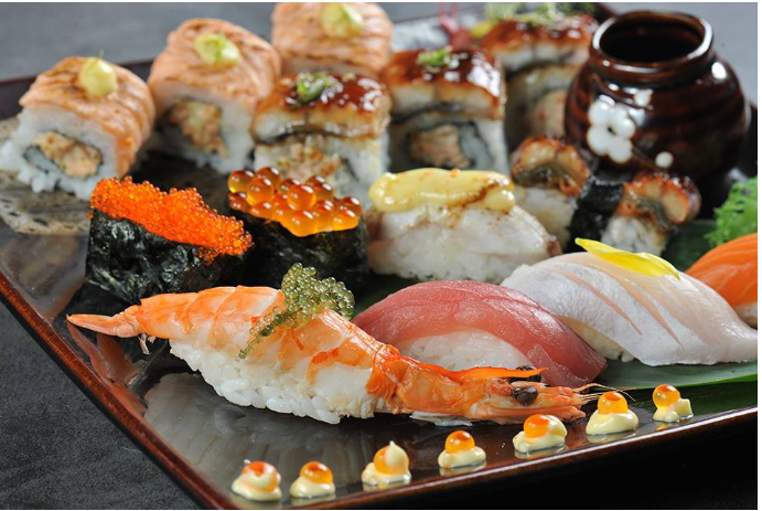 Thả ga với bữa tiệc Sushi