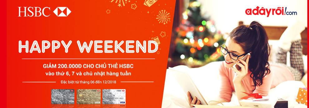 ưu đãi thẻ tín dụng HSBC tháng 12