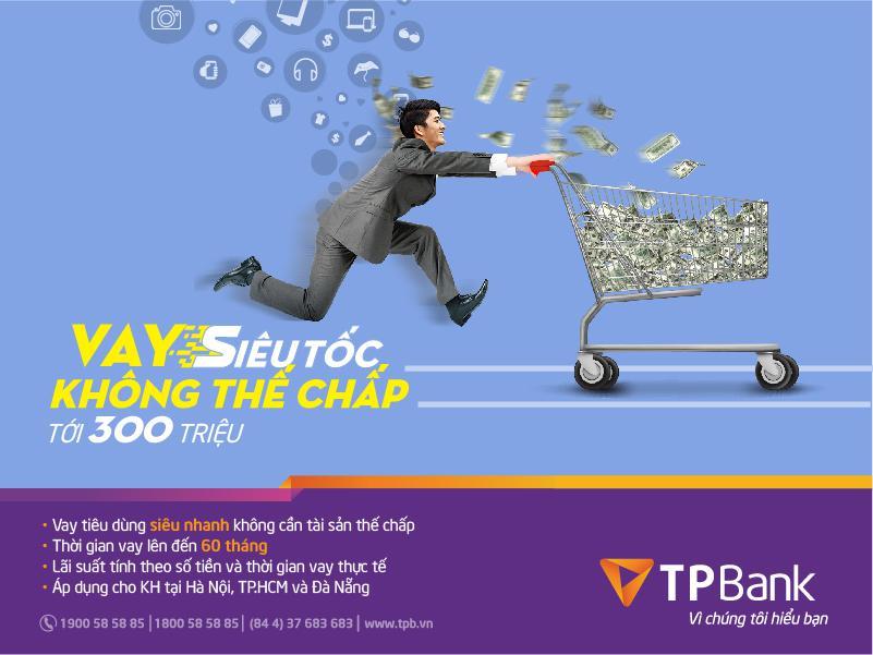 vay tiêu dùng tín chấp TPBank