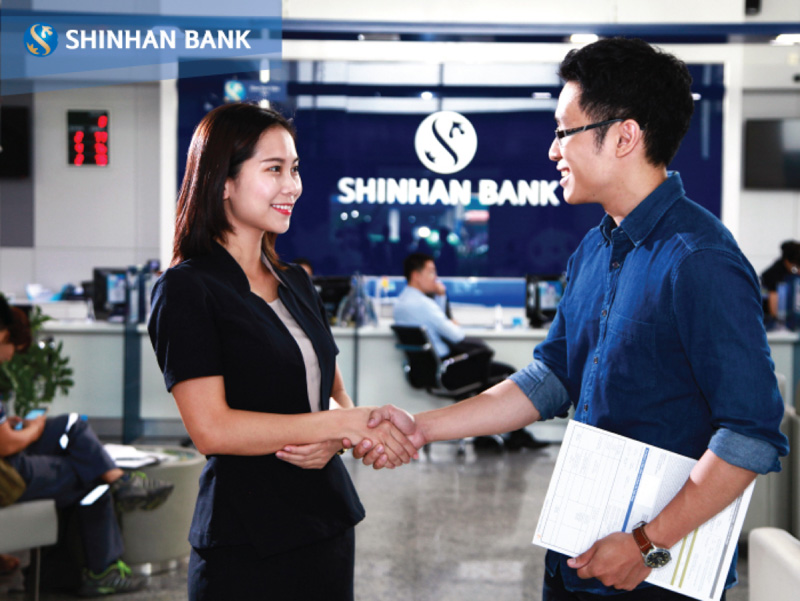 vay tín chấp ngân hàng shinhan bank