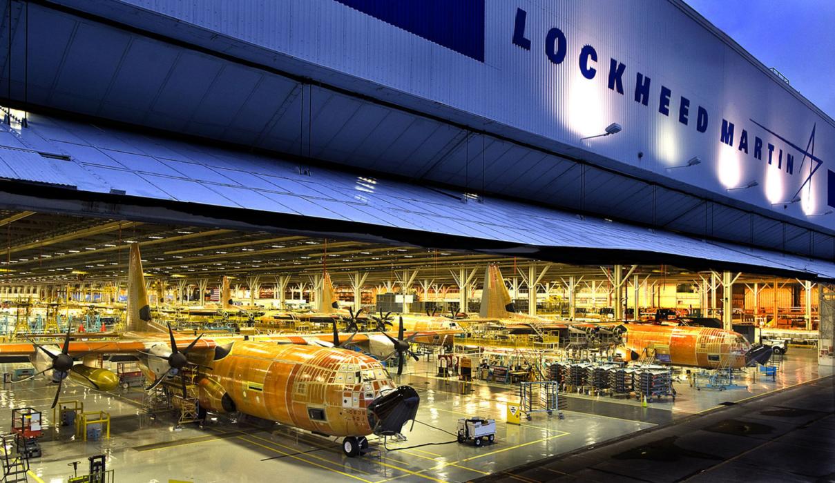 co phieu Lockheed Martin