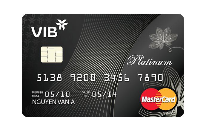 thẻ tín dụng vib platinum