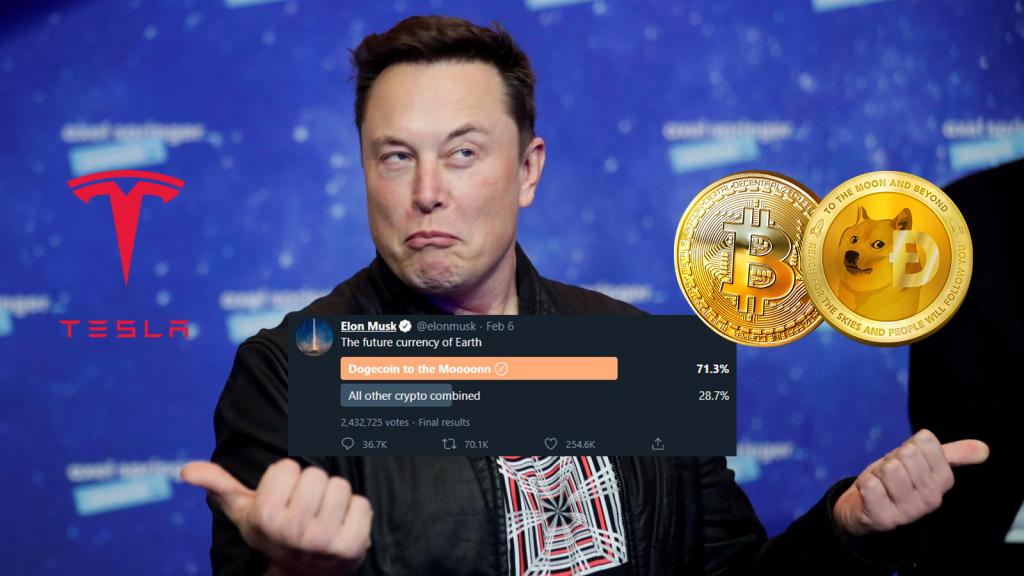Elon Musk mua Bitcoin