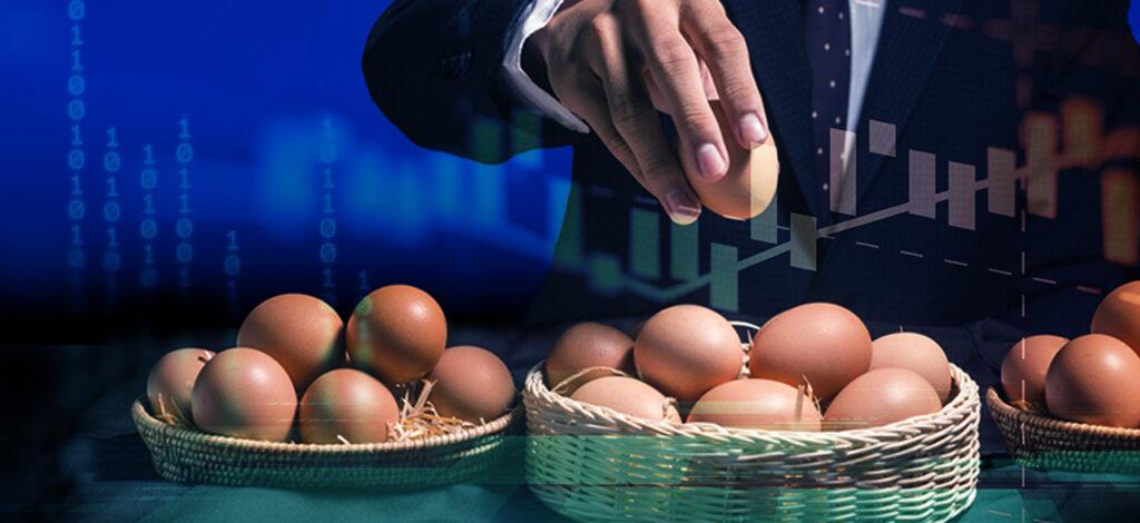 Đừng bỏ tất cả trứng trong cùng một giỏ